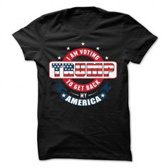 Awesome Tee I am voting Trump... Shirts & Tees