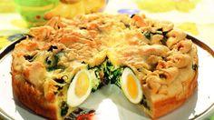 Пирог со шпинатом и яйцом. Пошаговый рецепт с фото, удобный поиск рецептов на Gastronom.ru