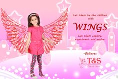 Let them be the #children with #wings. Let them explore,experiment and evolve. - http://talesandstories.com/ #buy #boy #girls #apparel