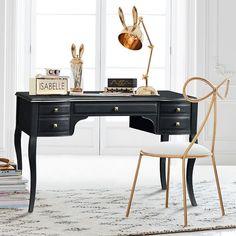 The Emily & Meritt Lilac Desk | PBteen