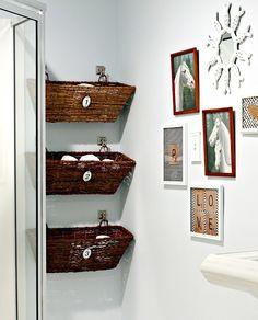 Top 10 DIY Bathroom Storage Solutions