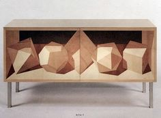 Trix & Robert Haussmann. 1992 sideboard