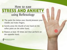 I have turned my back on and thanks to reflexology Acupuncture Can De-Stress Acupressure Massage, Acupressure Treatment, Reflexology Massage, Acupuncture For Anxiety, Acupuncture Points, Acupressure Points In Hand, Massage Tips, Massage Therapy, Yoga
