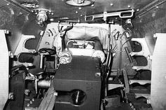 Inside a Jagdtiger, pic 2 of 3. The gunner & commanders positions.