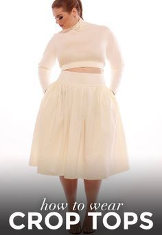 9ca6b55a8d1 How Every Body Type Can Wear Crop Tops  A Complete Guide Curvy Girl Fashion