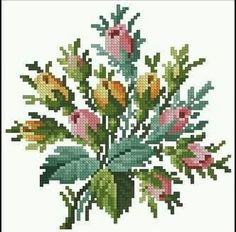 Cross stitch embroidery Poppy Embroidery by BicallisEmbroidery Cross Stitch Pillow, Cross Stitch Books, Just Cross Stitch, Cross Stitch Heart, Cross Stitch Alphabet, Cross Stitch Flowers, Cross Stitching, Cross Stitch Embroidery, Embroidery Patterns