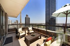 A TWO BEDROOM CONDO WITH A 350 SQUARE FOOT TERRACE  |  Manhattan, NY  |  Luxury Portfolio International Member - Halstead Property