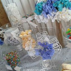 CANDY STATION de la barra dulce ♥ Baptism Bautizo Bautismo Christening First Communion → Primera Comunión de la barra dulce ♥ Dessert table Candy Station  #labarradulce #Guatemala #candy #CandyStation #dessertTable #buffetdedulces #mesadepostres #dulces #estiloSaul #LOsteria #Saul #dulcestipicos #dulcestradicionales #PrimeraComunion #FirstCommunion white custom cross cruz candies design personalized  candies country shabby chic