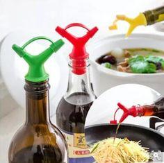 [S$7.90](▼80%)5/set Pour soy oil bottle mouth double cork wine stopper wine…
