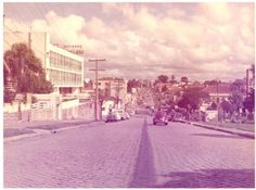 Avenida João Gualberto - Década de 1960