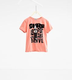 Skull and text T-shirt