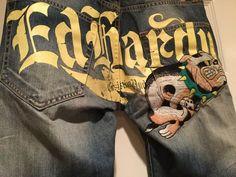 ed hardy jeans #EdHardy #ClassicStraightLeg   Ed hardy, Mens
