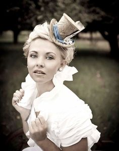 bridal top hat - Google Search