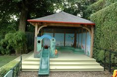 Childrens Playhouse, Sand Pit, Playhouses, Projects, Litter Box, Log Projects, Blue Prints