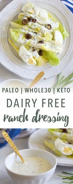 You Have Meals Poisoning More Normally Than You're Thinking That Dairy Free Ranch Dressing Empowered Sustenance Dairy Free Dip Recipes, Dairy Free Dips, Lactose Free, Gluten Free Recipes, Low Carb Recipes, Vegan Recipes, Cooking Recipes, Dairy Free Dressing Recipes, Dairy Free Dinners