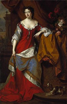 Anne (1665 - 1714). Daughter of King James II and Anne Hyde. She married George of Denmark and one son who lived past infancy.