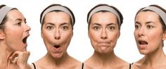 Face yoga involves facial exercises of the entire face, scalp and neck. In simple words it is a natural face lift - work out for the facial muscles aiming at keeping the muscle tone. Facial Muscle Exercises, Do Facial Exercises Work, Face Exercises, Facial Muscles, Facial Yoga, Facial Massage, Natural Face Lift, Sagging Skin, Tips Belleza