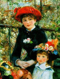 'Two Sisters' ~ Renoir