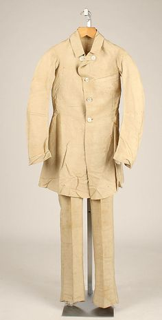 Ensemble (1840)- the tibi suggests the coat was worn open, not closed as seen here