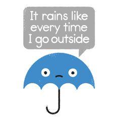 """""""Umbrellativity"""" rejected titles: """"It's Umbrellative"""", """"No Fun-brella"""", """"Dumbrella"""", """"Weather Or Not"""", """"..."""