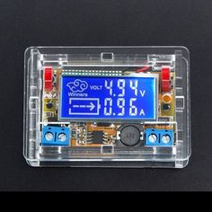 DC-DC Step Down Power Supply Adjustable Module With LCD Display With Housing Case #Affiliate