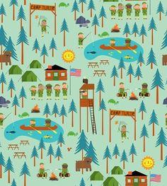 Camp Turtle via MuralsYourWay.com