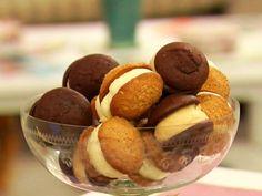 Whoopies de avena y chocolate