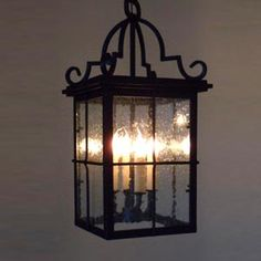 Entry way light fixture