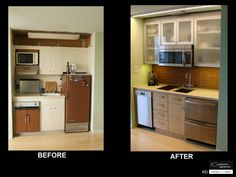 A kitchen doesn't always need to be big to be fabulous. #SmallSpaces
