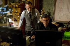 Michael Emerson and James Caviezel in Person of Interest picture