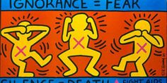 Keith Haring Poz artist and activist