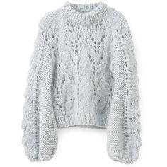 sz XSS fuzzy soft lace cute Express light pastel blue mohair blend knit women/'s long-sleeve pullover turtleneck sweater  vintage