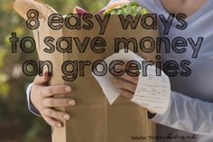 Slashing your grocery bill shouldn't have to be hard.  If you are ready to start saving money, then I have 8 Easy Ways To Save Money At The Grocery Store.  The need for food, like laundry nev…