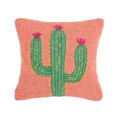 Festival Cactus Hook Pillow by Peking Handicraft Handicraft, Cactus, Succulents, Throw Pillows, Craft, Toss Pillows, Cushions, Arts And Crafts, Succulent Plants