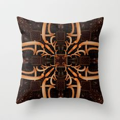 CenterViewSeries161 Throw Pillow by fracts -fractal art - $20.00