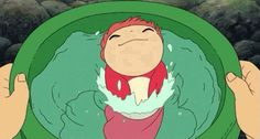 Screencap Gallery for Ponyo Bluray, Studio Ghibli). One fateful day, he finds a beautiful goldfish Art Studio Ghibli, Studio Ghibli Films, Hayao Miyazaki, Film Animation Japonais, Animation 3d, Anime Studio, Auto Poster, Manga Anime, Film Studio