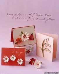 Resultado de imagen para tarjetas para mamá hechas a mano
