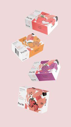 mood board Fruite - Verpackungsdesign-Konzept auf Behance Mother's Day - Thank Your Mother Everyday Pop Design, Design Lab, Visual Design, Cover Design, Label Design, Kids Packaging, Fruit Packaging, Food Packaging Design, Packaging Design Inspiration