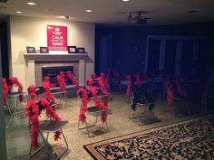 Fifty Shades of Grey Party | Bachelorette | Red Room of Pain | Red Feather Boas | Lapdancing