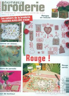"ru / Orlanda - Album ""№ Cross Stitch Magazines, Cross Stitch Books, Cross Stitch Patterns, Magazine Cross, Book And Magazine, Lps, Doilies, Le Point, Couture"