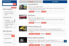 Online Directory -  Search for Transporter, packers & Movers