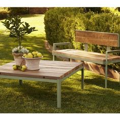 Reclaimed Wood Outdoor Furniture