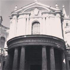 Fachada de la iglesia de Santa Maria della Pace