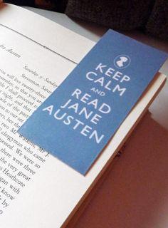Jane Austen Bookmark