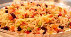 Não Perca!l Como preparar um delicioso arroz à grega - #