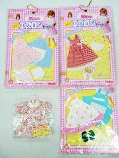 ☆未使用☆ リカちゃん 洋服 かわいいエプロンセット(2)_画像1