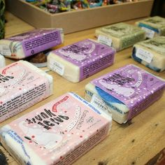 #Shea butter #soap bars from Global Mamas in three soothing scents: #Lavender, #Rosemary, & #Lemongrass!