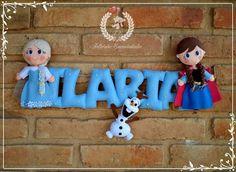 Banner Frozen - Uma Aventura Congelante Duas lindas princesinhas que irão alegrar uma garotinha encantadora em Foz do Iguaçu - PR Não nos esqueçamos do nosso querido boneco de neve... :-)