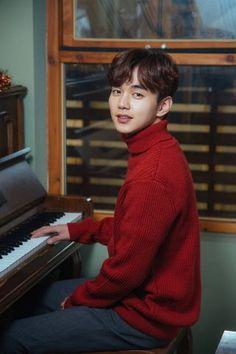 Yoo Seung Ho Pulls Off a Red Turtleneck Sweater and His First Rom-com Drama Role for I am Not a Robot Yoo Seung Ho, Child Actors, Young Actors, So Ji Sub, Incheon, Kim Min, Lee Min Ho, Drama Korea, Korean Drama