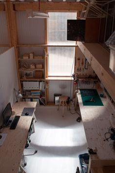 Since 1998 the Web Atlas of Contemporary Architecture Contemporary Architecture, Interior Architecture, Interior And Exterior, Interior Design, Art Studio Design, Art Studio At Home, Warehouse Design, Home Office Design, Interior Inspiration